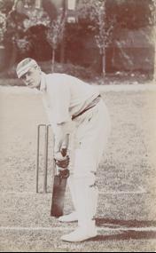 G.L. Jessop batting
